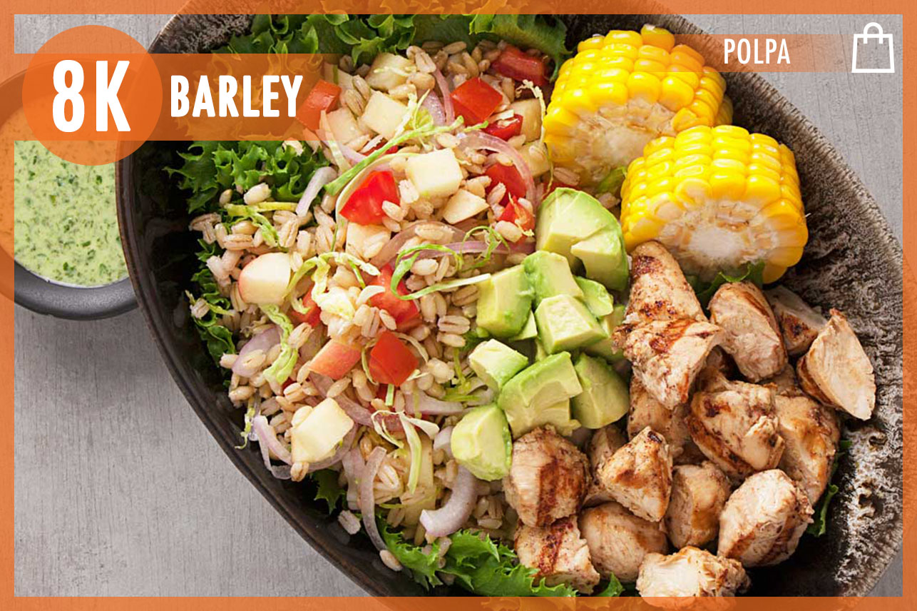 Chicken Barley Bowl