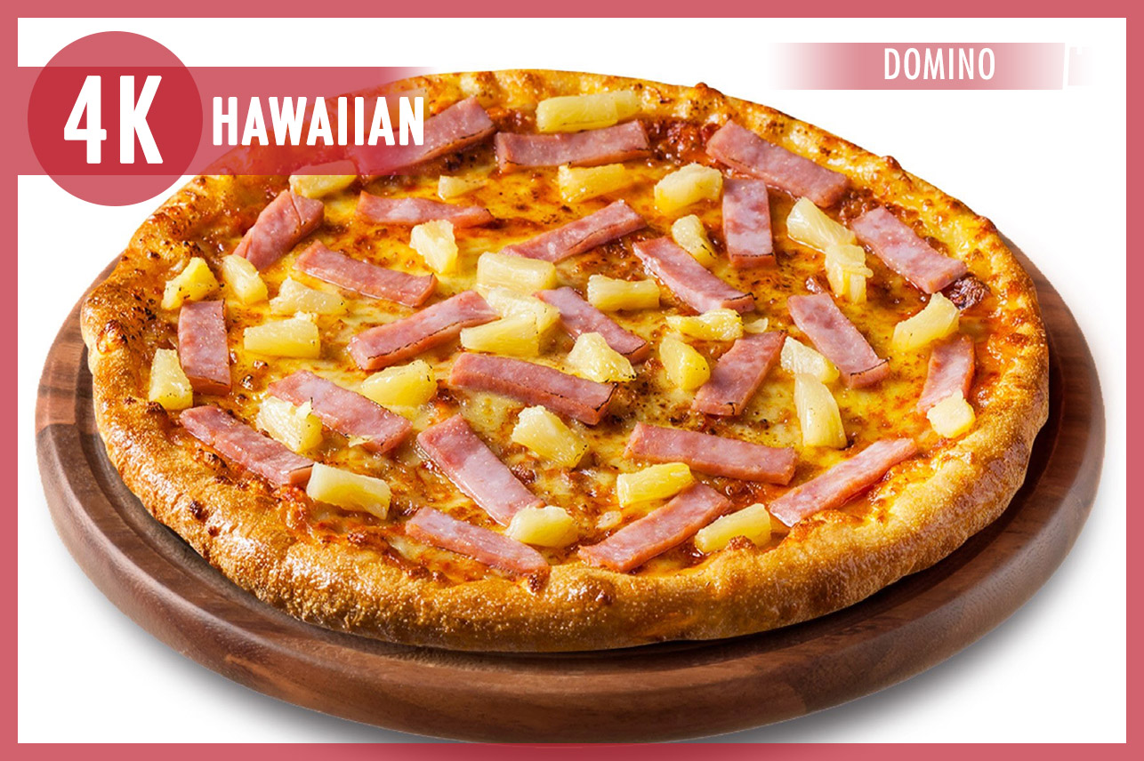 "Domino's 7"" Hawaiian"