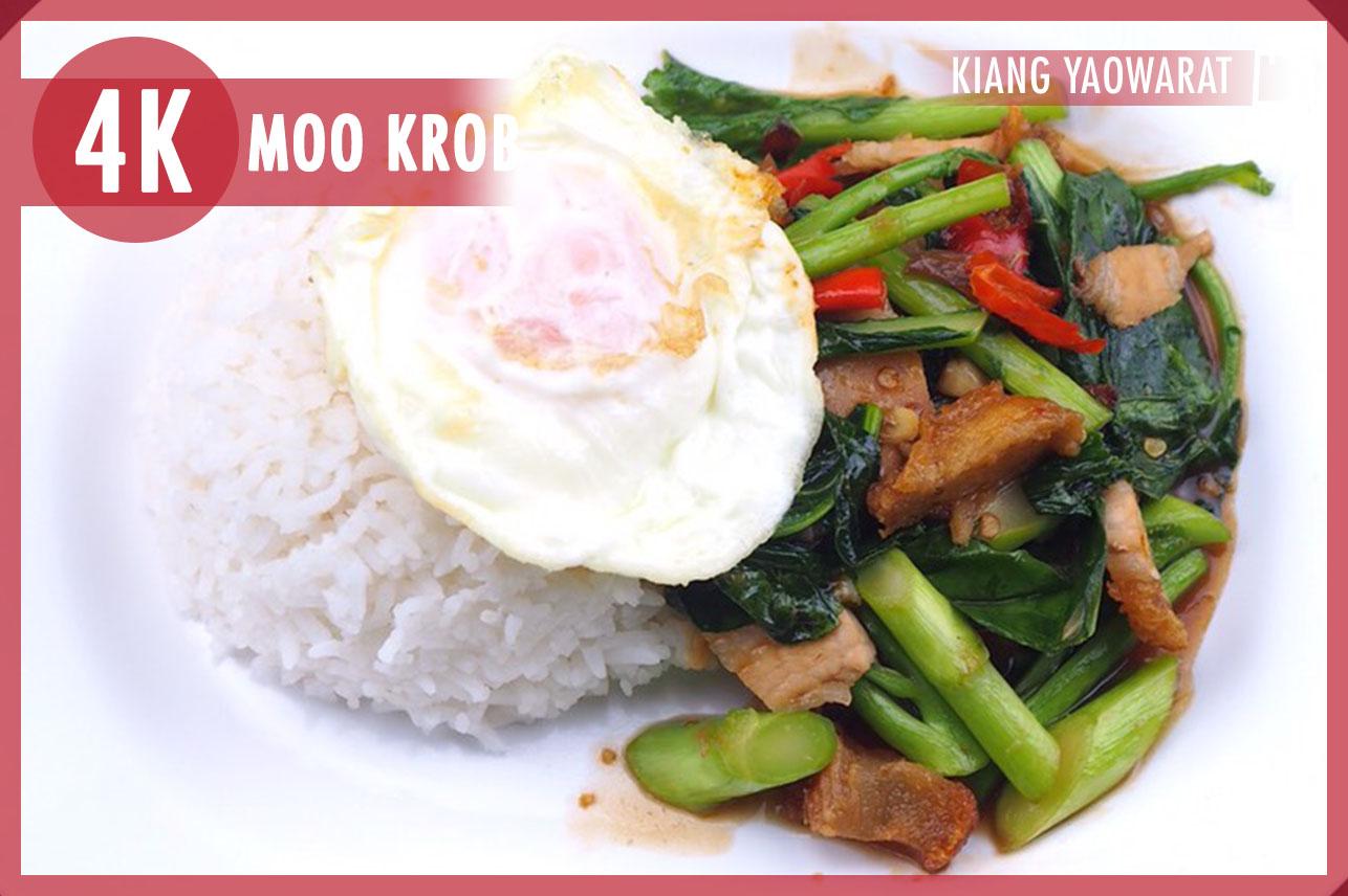 Crisy Pork W/Chinese Kale&Egg