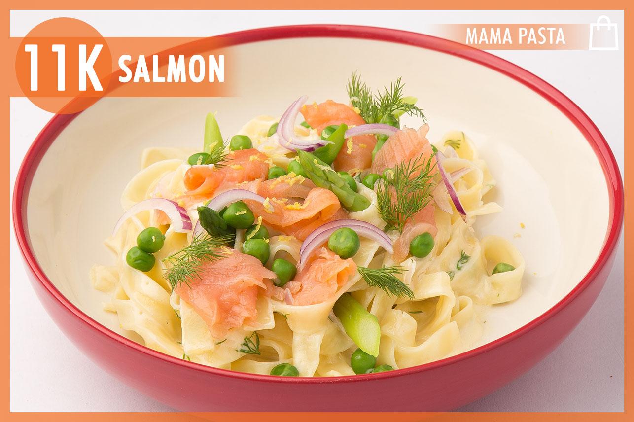 Tagliatelle Smoked Salmon
