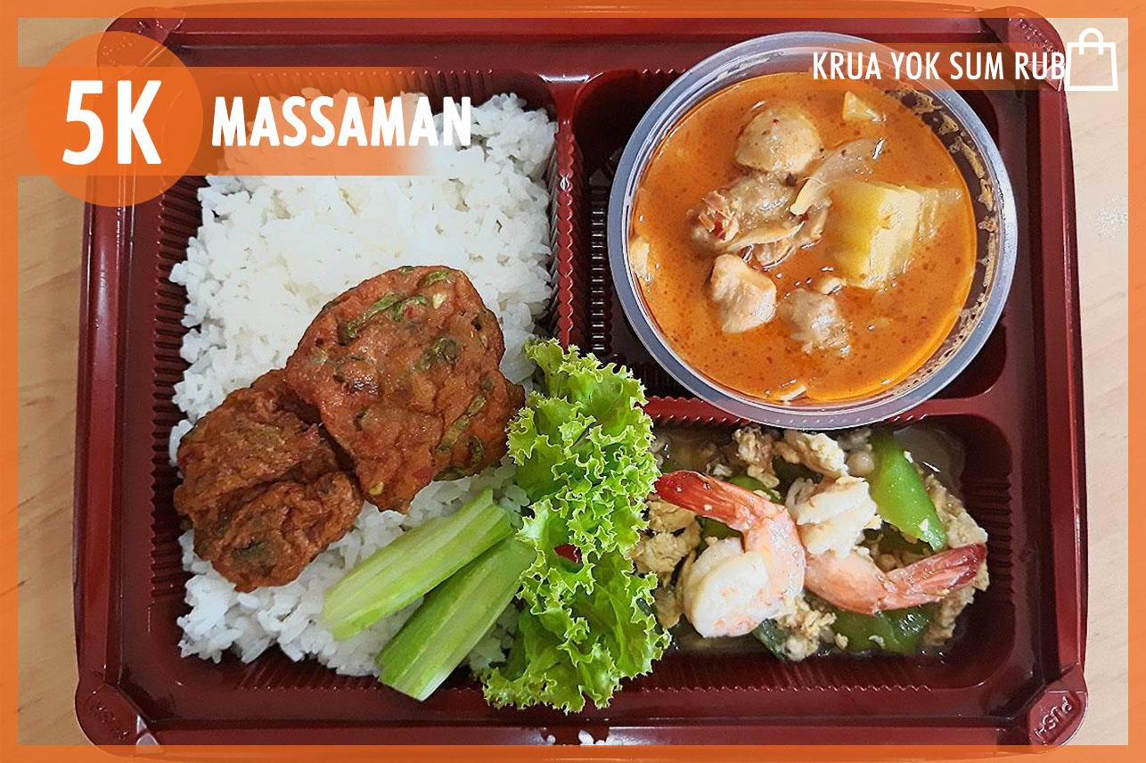 Massaman Chicken & Pad Luffa