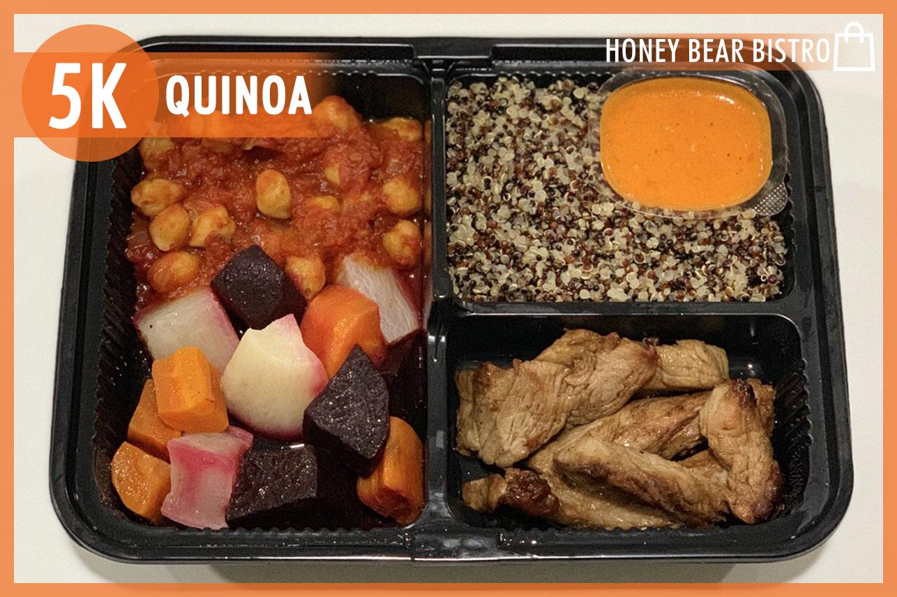 Balsamic Pork Tenderloin & Quinoa