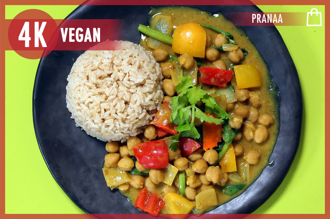 Chickpea Pad Pong Curry
