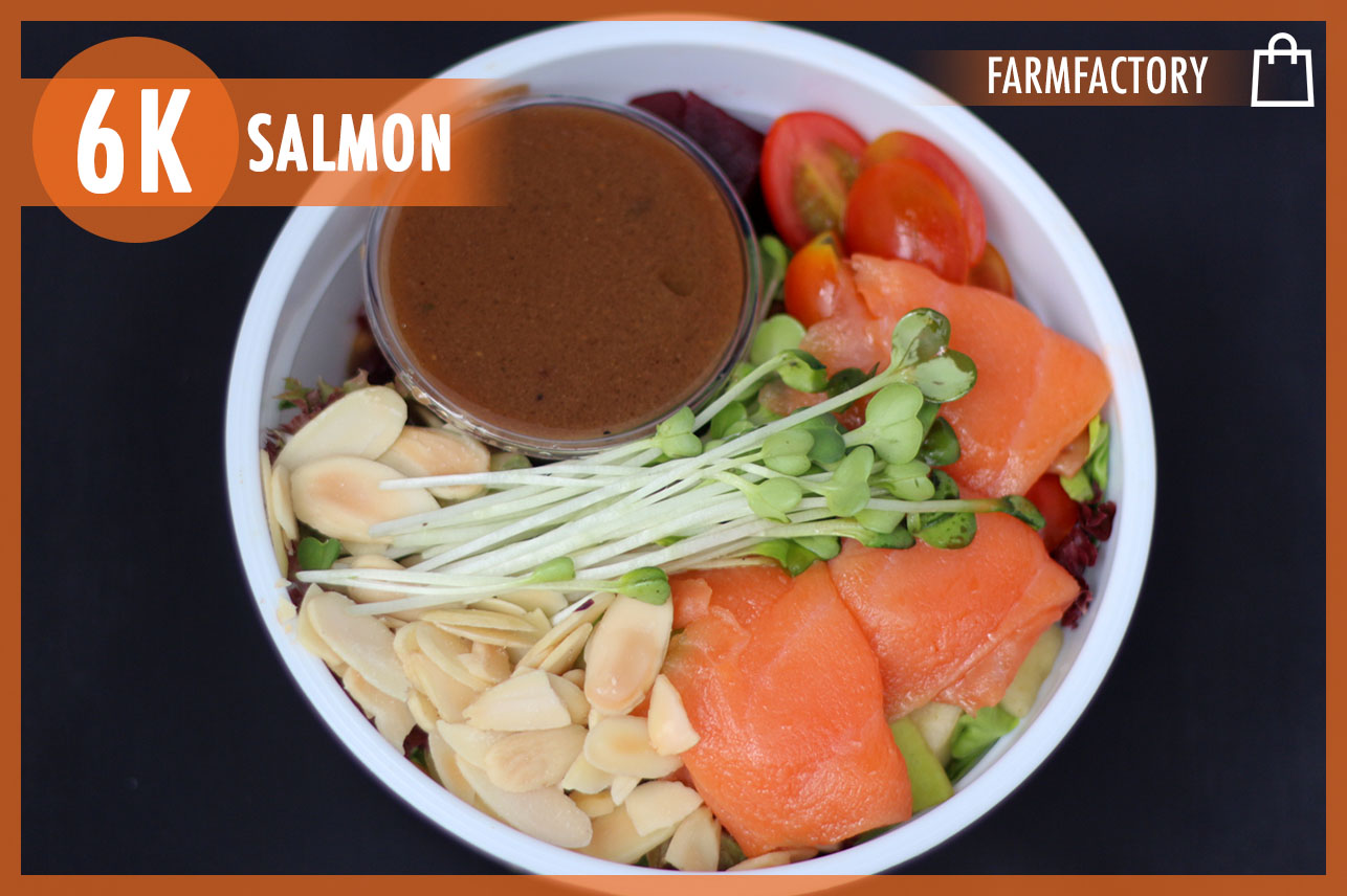 Smoked Salmon Salad Bowl