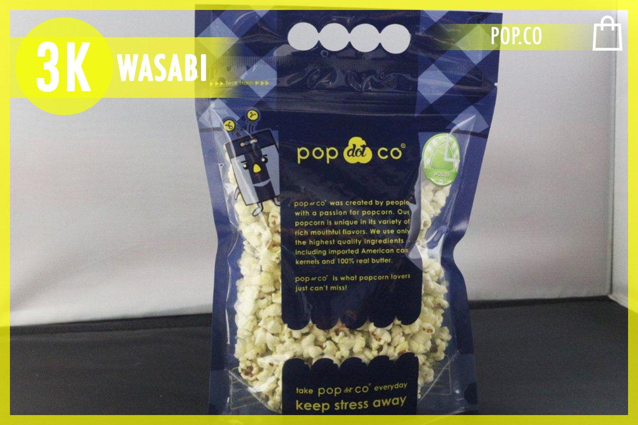 Wasabi Popcorn 150g